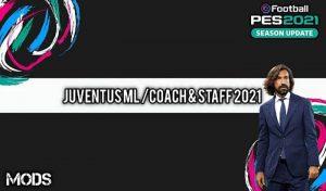 دانلود مود ML Coach and Staff برای PES 2021 – مربی مسترلیگ