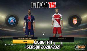 دانلود کیت Ligue 1 برای FIFA 15 فصل 2020-21