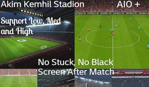دانلود استادیوم پک AK Stadium 2020 برای PES 2017 – بدون مشکل سیاه شدن