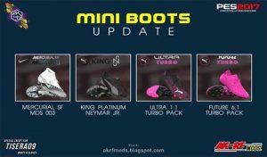 مینی پک کفش Update 2020 برای PES 2017 توسط AKC_47