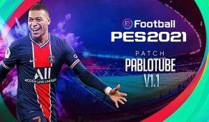 پچ PabloTube v1.1 PC برای PES 2021 توسط PabloTube