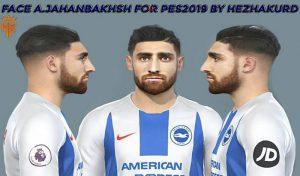 دانلود فیسALIREZA JAHANBAKHSH برای PES 2019