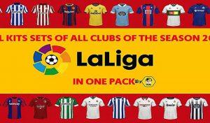 فول کیت پک La Liga برای FIFA 15 فصل 20/21
