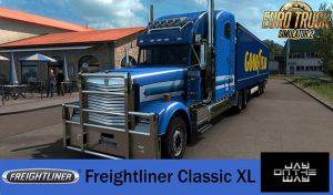 کامیون Freightliner Classic XL 2.0 برای یورو تراک 2