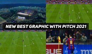 منو گرافیکی Best Graphic Mod PES 2021 برای PES 2017