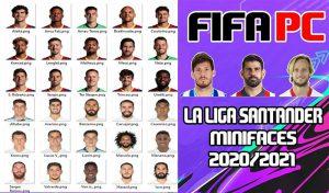 مینی فیسLa Liga Santander برای FIFA 14 فصل 20/21