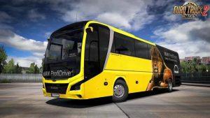 اتوبوس Man Lion's Coach Optiview 1.1 برای یورو تراک 2