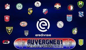 فول کیت پک Eredivisie برای PES 2013 فصل 2020-2021