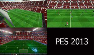 استادیوم Old Trafford برای PES 2013 توسط Alonso14