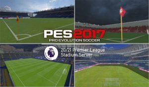 استادیوم سرور All Premier League برای PES 2017
