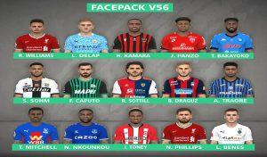 دانلود فیس پک v56 برای PES 2017 توسط FR Facemaker