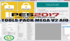 مگا پک ابزار ادیت V2 برای PES 2017 توسط MJTS
