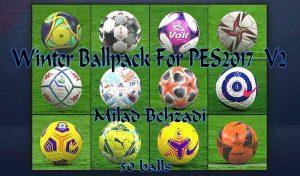 توپ پکWinter 2021 برای PES 2017 توسط milad Behzadi