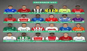 دانلود فیس پک v57برای PES 2017 توسط FR Facemaker