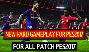 گیم پلی مود Hard Like PES 2021 برای PES 2017