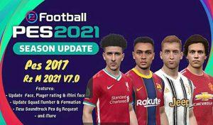 پچ Next Season 2020 برای PES 2017 + آپدیت V7 در 30 آبان 99