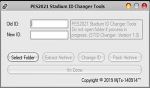 ابزار ادیت Stadium ID Changer برای PES 2020 و PES 2021