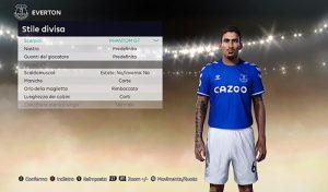 فیس Allan Marques Loureiro v2 برای PES 2021