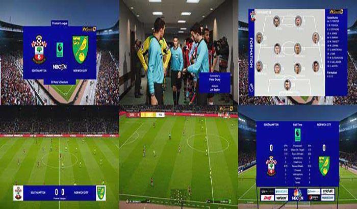 اسکوربرد Premier League V1