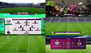 اسکوربرد Premier League برای PES 2021 توسط spursfan18