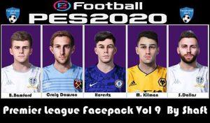 فیس Premier League v9 برای PES 2020 و PES 2021