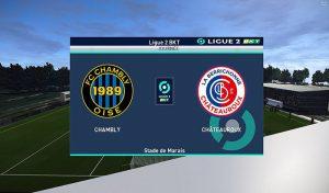 اسکوربرد Ligue 2 Enhanched برای PES 2021 توسط JenW