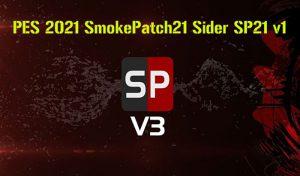 نرم افزار Sider SP21 v1 برای PES 2021 مخصوص پچ SmokePatch21