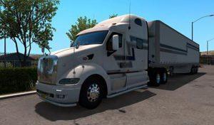 کامیون PETERBILT 387 + INTERIOR V1.3 1.39.X برای آمریکن تراک 2