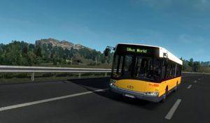 اتوبوس SOLARIS URBINO III 12 BVG V1.0 برای یورو تراک 2