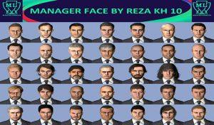فیس پک Manager برای PES 2017 توسط Reza kh 10