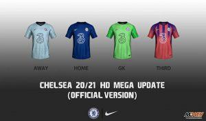 کیت Chelsea 20/21 برای FIFA 14 توسط DEATH GOD 7