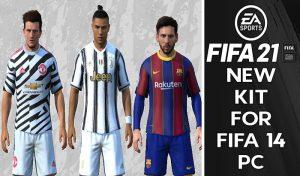 کیت پک تبدیلی FIFA 21 برای FIFA 14 توسط DeBuDDi