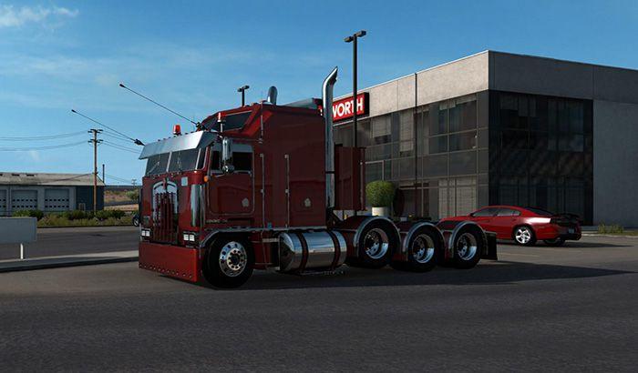 کامیون Kenworth k100 custom 1.39