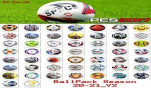دانلود توپ پک v2 برای PES 2017 فصل 2020-21