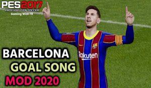 ماد شادی پس از گل Barcelona New Mod 2020 برای PES 2017