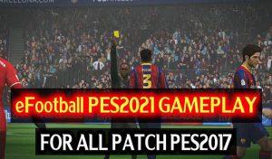 گیم پلی مود Epic Like PES 2021 برای PES 2017 توسط DzPlayZ