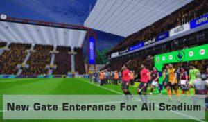 مود گیت ورودی Gate Enterance برای استادیوم هایPES 2017