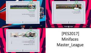 مینی فیس Master league برای PES 2017 توسط EsLaM