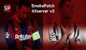 کیت پک Sider Kitserver برای PES 2020 مخصوص پچ Smoke Patch20
