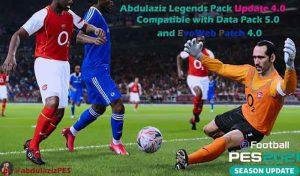 پچ Abdulaziz's legends 4.0 برای PES 2021 توسط abdulaziz1899