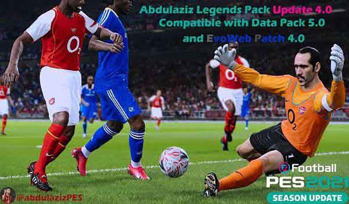 پچ Abdulaziz's legends 4.0