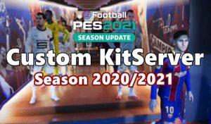 کیت پک فصل 2020/2021 برای PES 2021 آپدیت 05/01/2021