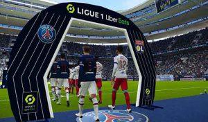 کیت پک سرور Ligue 1 Uber Eats v2 برای PES 2021