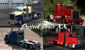کامیون PROJECT3XX V2.139 برای آمریکن تراک 2