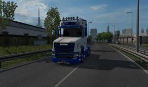 کامیون SCANIA S NEW GEN TCAB V3.0.2 برای یورو تراک 2