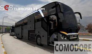 اتوبوس SETRA TOP 517 HDH 2020 V3.5 برای یورو تراک 2