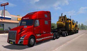 کامیون VOLVO VNL 2019 V2.27 1.39 برای آمریکن تراک 2