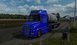 کامیون DAF XT REWORK V1.5 برای یورو تراک 2