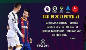 پچ Next Season Patch 2021 V2 برای FIFA 18 – مطابق با FIFA 21