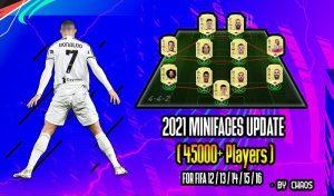 دانلود مینی فیس پک 2021 برای FIFA 14